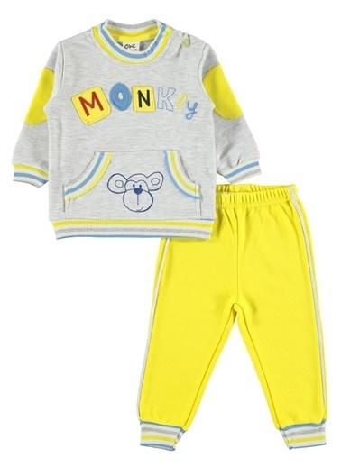 Civil Baby  Erkek Bebek Takım 6-18 Ay Sarı  Erkek Bebek Takım 6-18 Ay Sarı Sarı